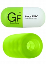 Mini Masturbateur Sexy Pills Green Feez